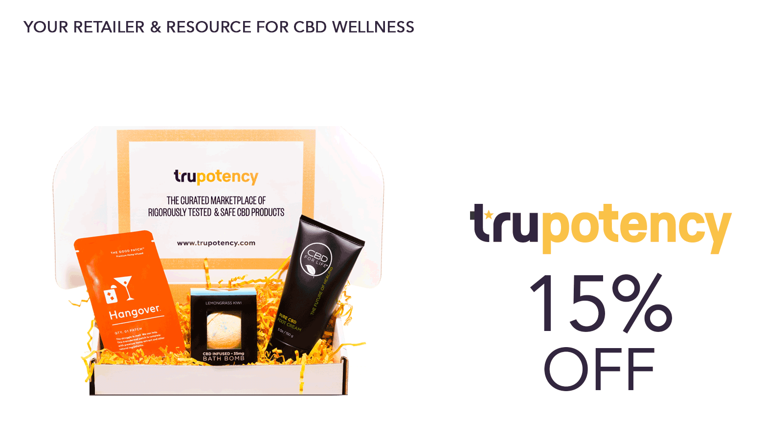 Trupotency.com CBD Coupon Code Website