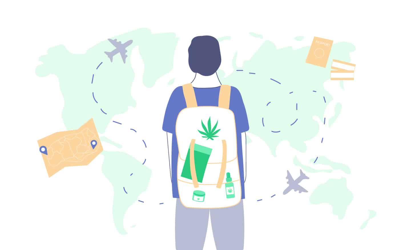 flying and traveling with marijuana