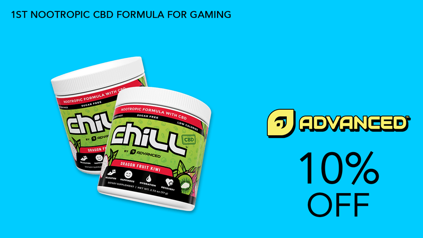 ChillbyAdvanced GG Gaming Supplements Coupon Code 10 percent off Website