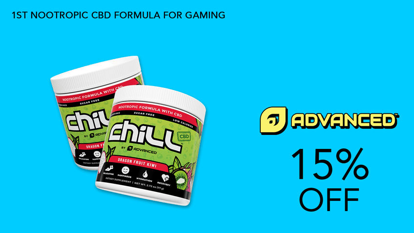 ChillbyAdvanced GG Gaming Supplements Coupon Code 15 percent off Website