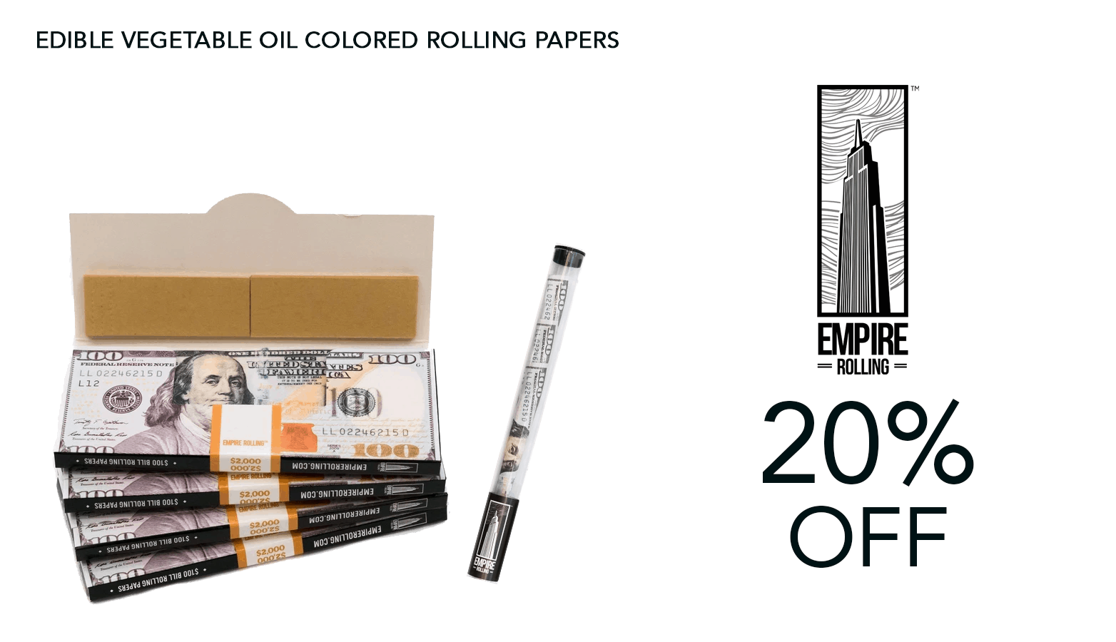 Empire Rolling CBD Coupon Code Website