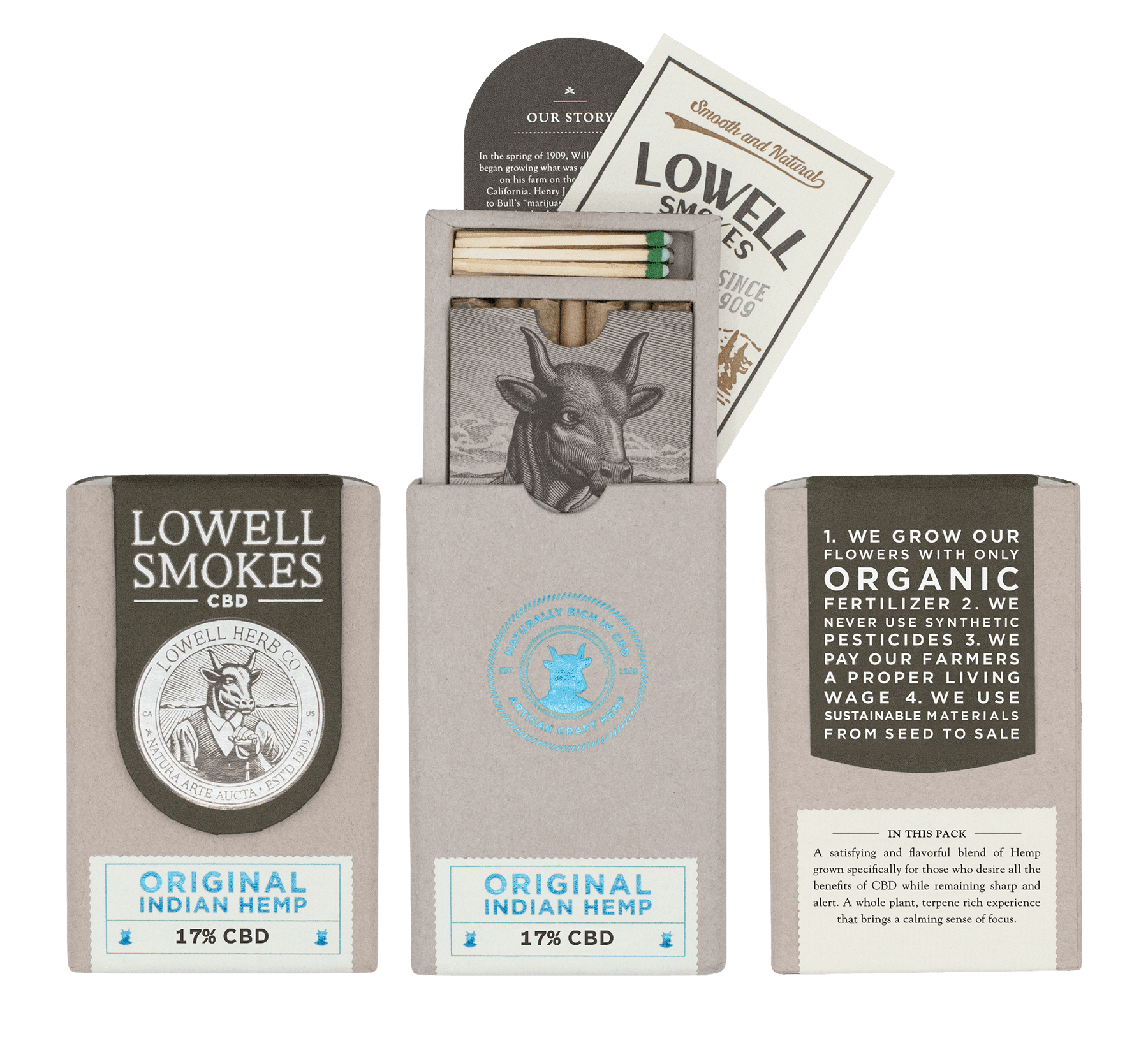 Lowell Herb Co Lowell Smokes CBD Coupon Code Cold Natural Smokes