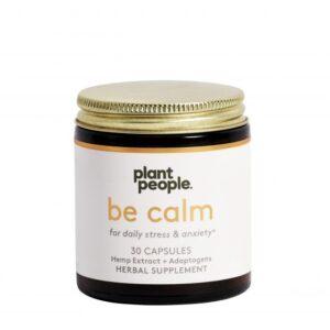 Shop CBD CBD Coupon Plant People CBD Capsules Be Calm 450mg