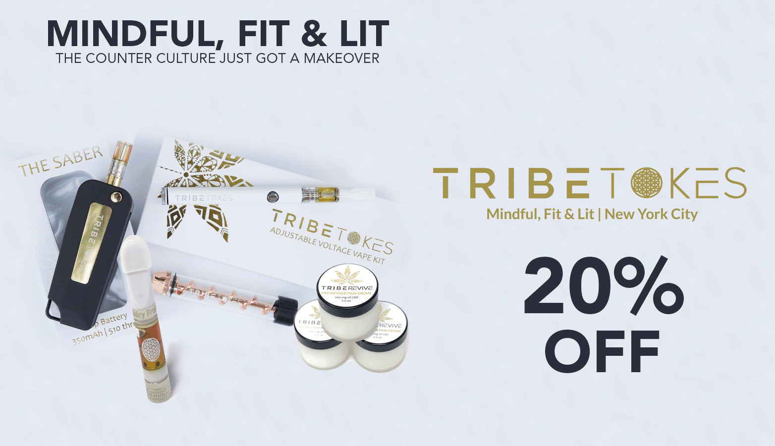 TribeTokes CBD Coupon Code Website