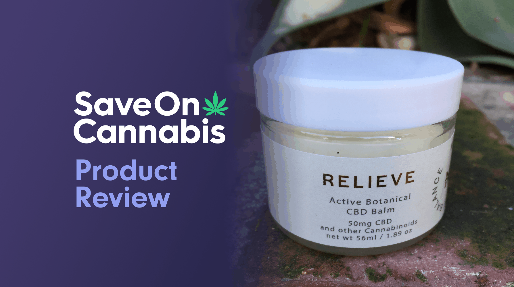 CBD Review: Life Balance Meridian Relieve Active Botanical CBD Balm