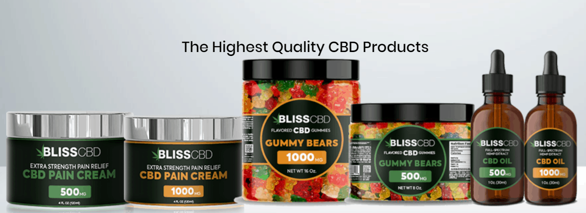 Bliss CBD Coupon Code Quality Products