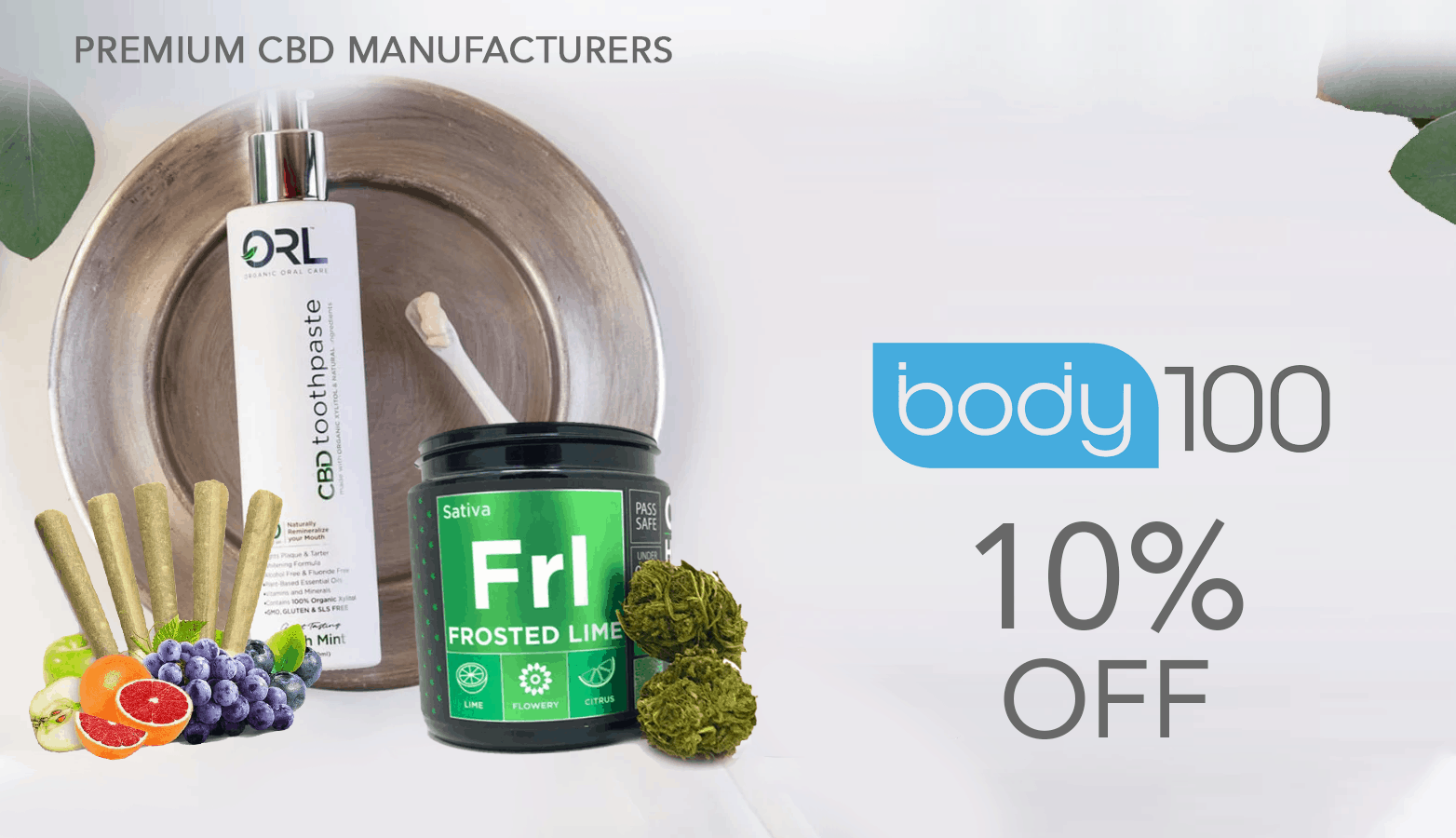 Body100 CBD Coupon Code Website
