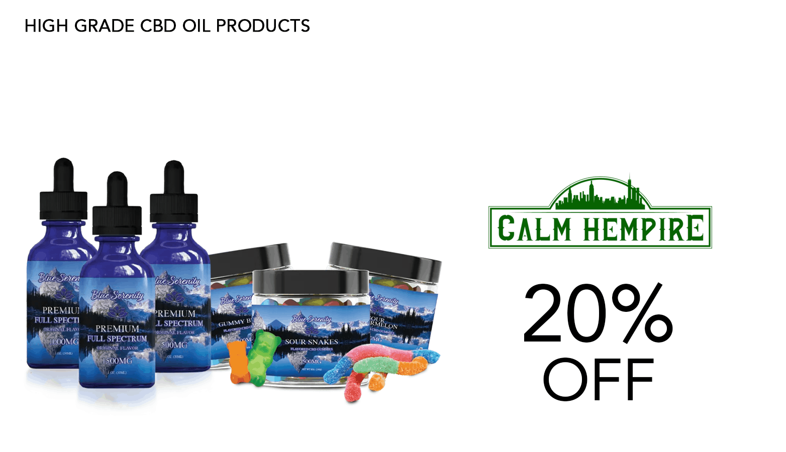 Calm Hempire CBD Coupon Code Website