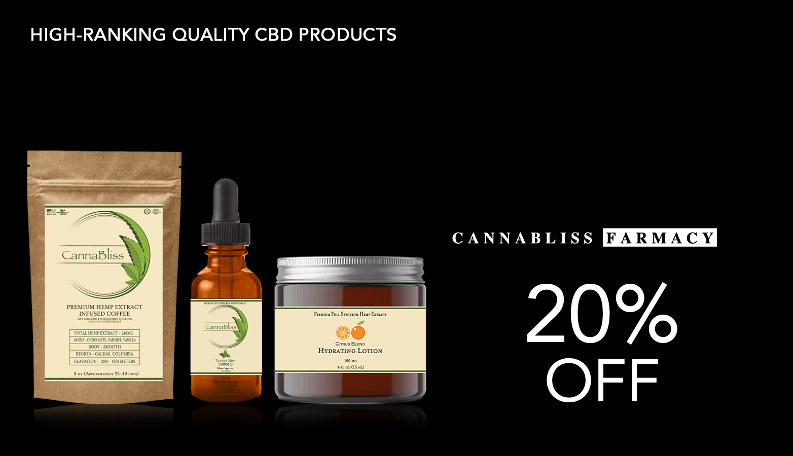 Get CannaBliss Farmacy Coupons