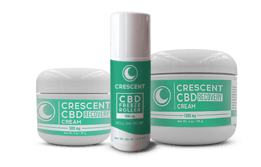 Crescent Canna CBD Coupon Code Cream