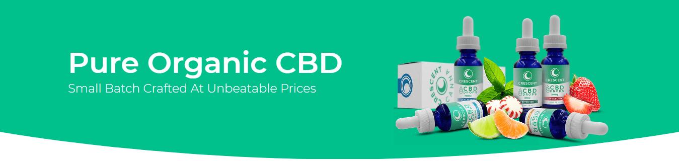 Crescent Canna CBD coupon code Organic Products