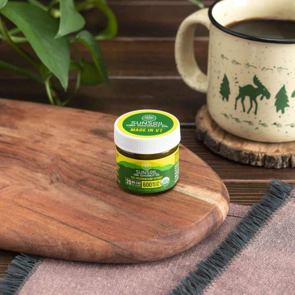 Sunsoil CBD Coupon Code Coconut Oil