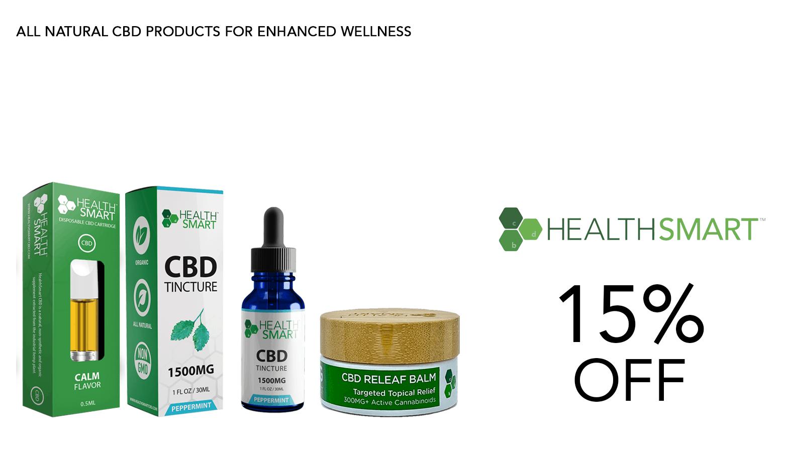 HealthSmart CBD Coupon Code Website