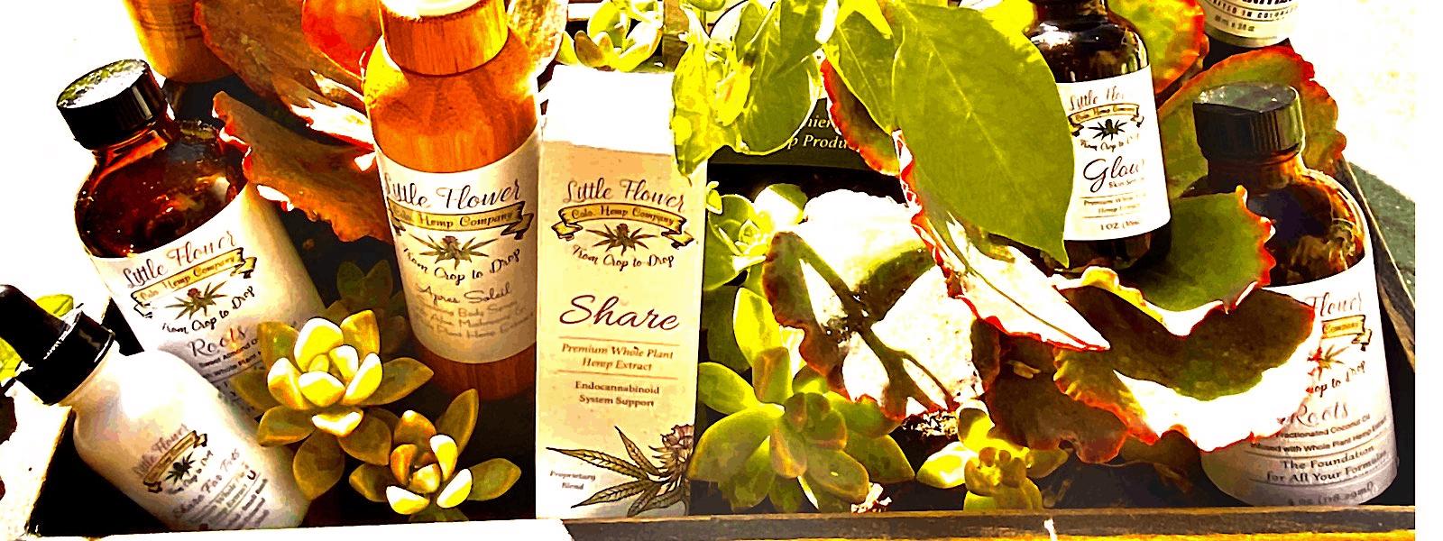 Little Flower Hemp Company CBD Coupons Products