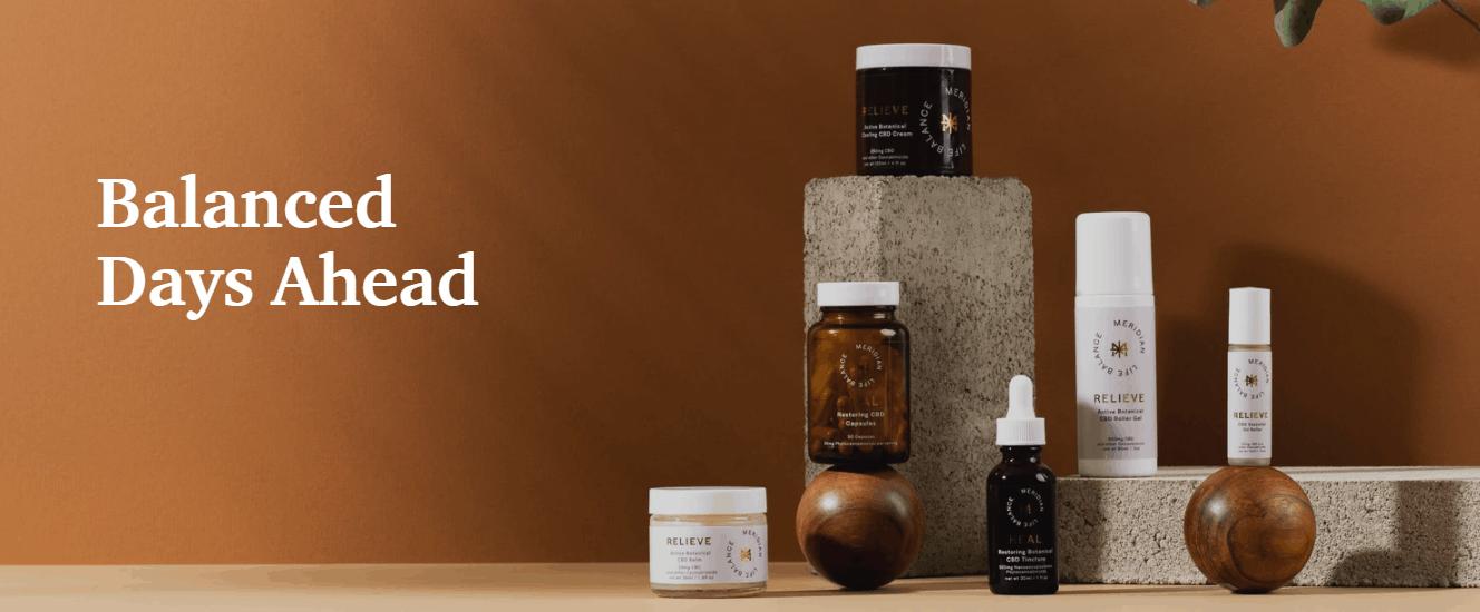 Meridian Life Balance CBD Coupon Code Wellness Products
