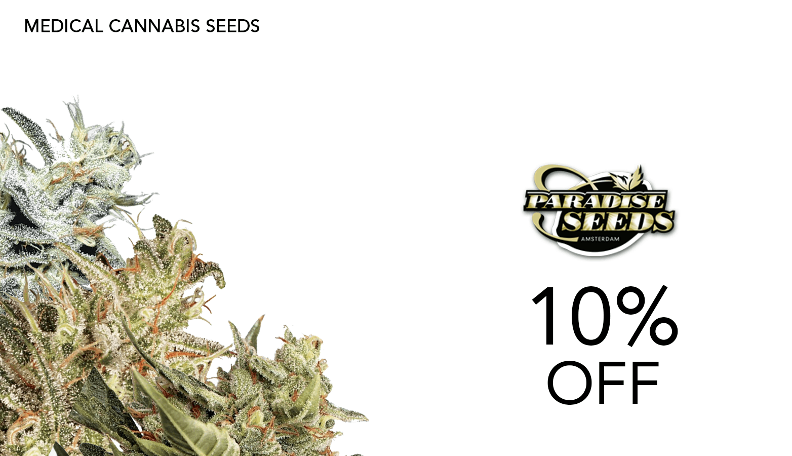 Paradise Seeds CBD Coupon Code Website