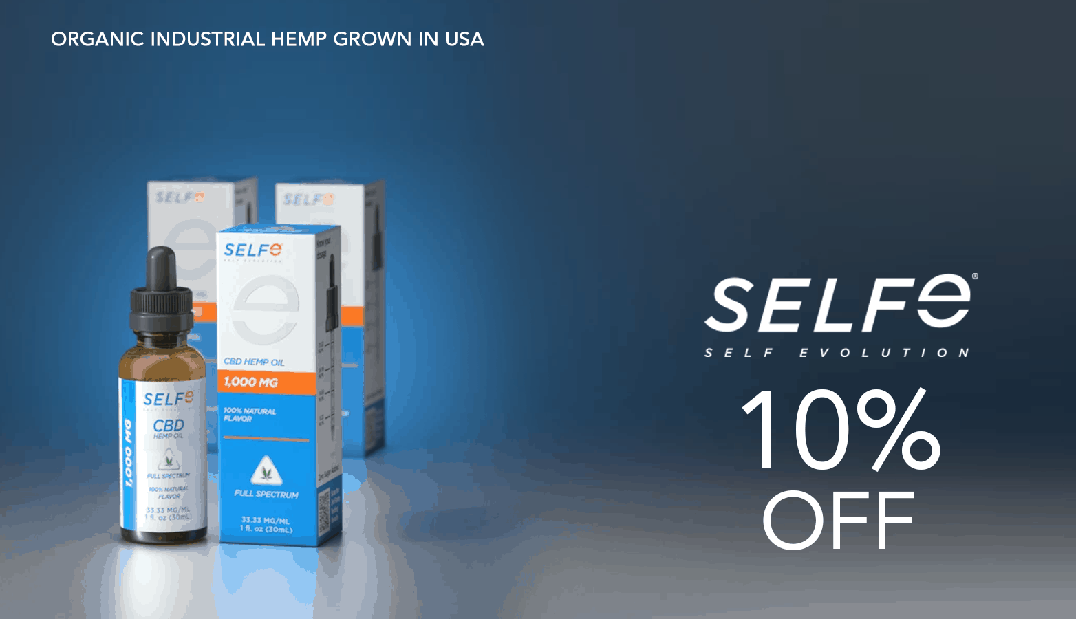 Selfe CBD Coupon Code Website