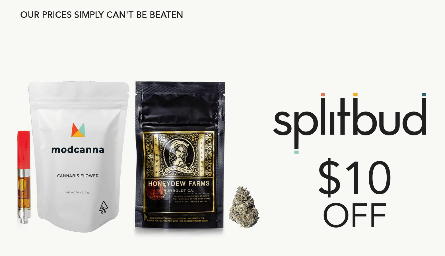 SplitBud CBD Coupon Code 10 Dollar Off Website