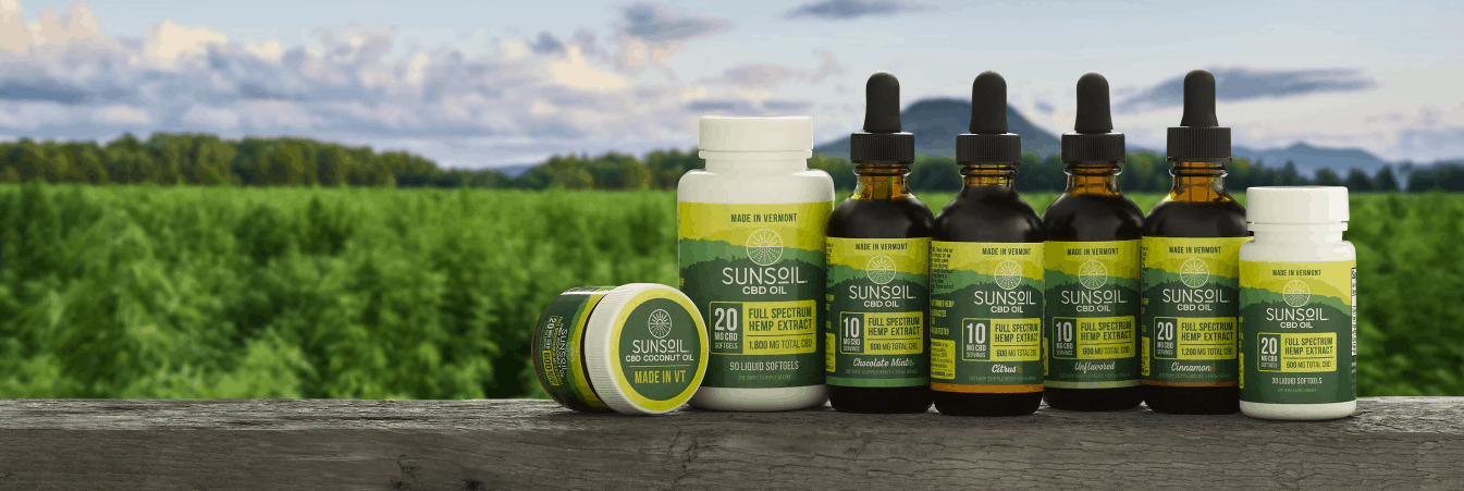 Sunsoil CBD Coupon Code Affordable Products