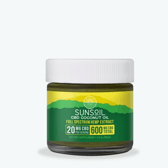 Sunsoil CBD Coupon Code Coconut Oil