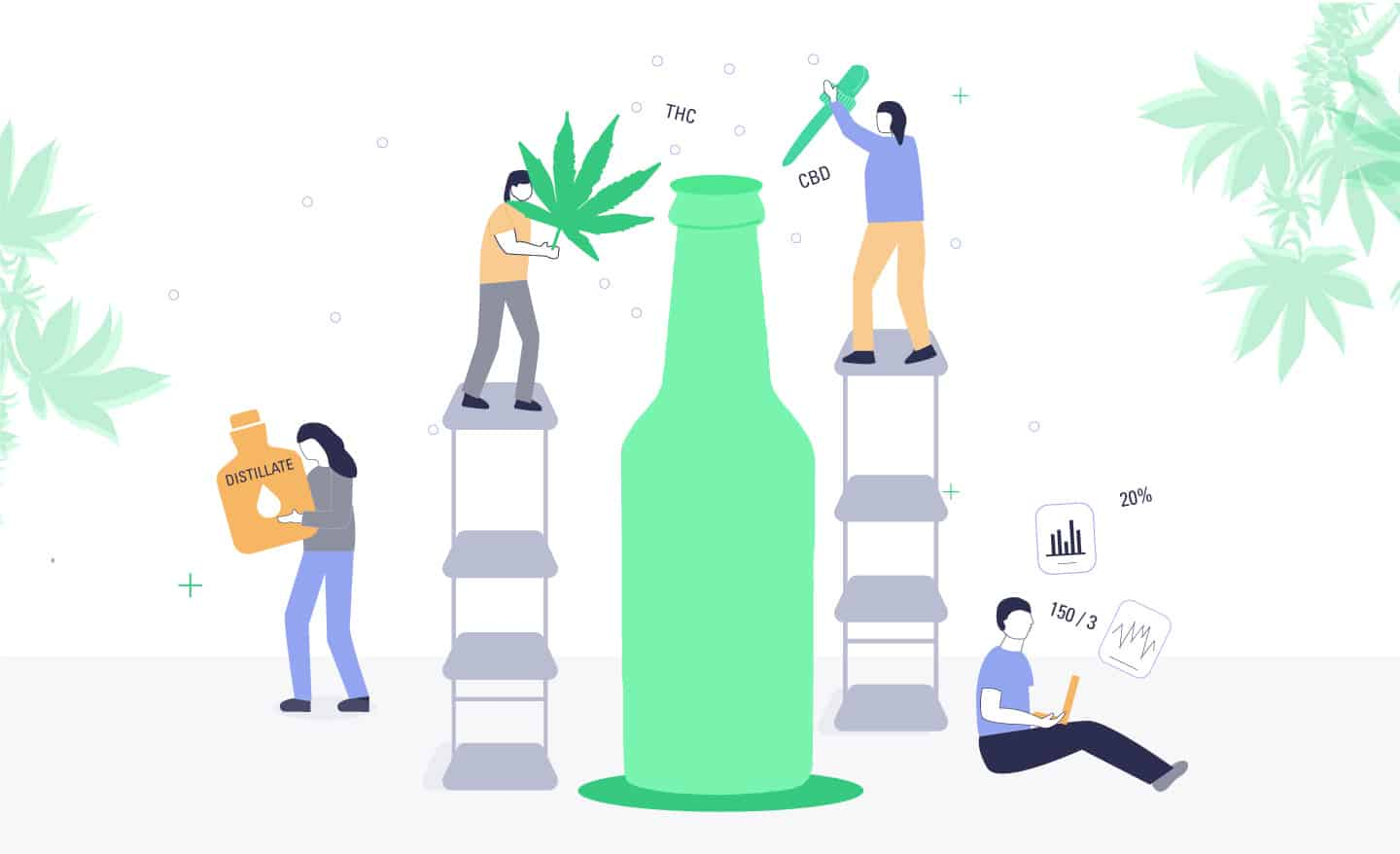 alcohol companies working on cannabis drinks