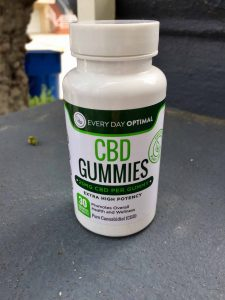 Everyday Optimal CBD Gummies bottle