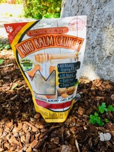 packet of King Kanine King Kalm Crunch Honey Oats