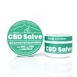 4cornerscannabis CBD Coupon Code salve