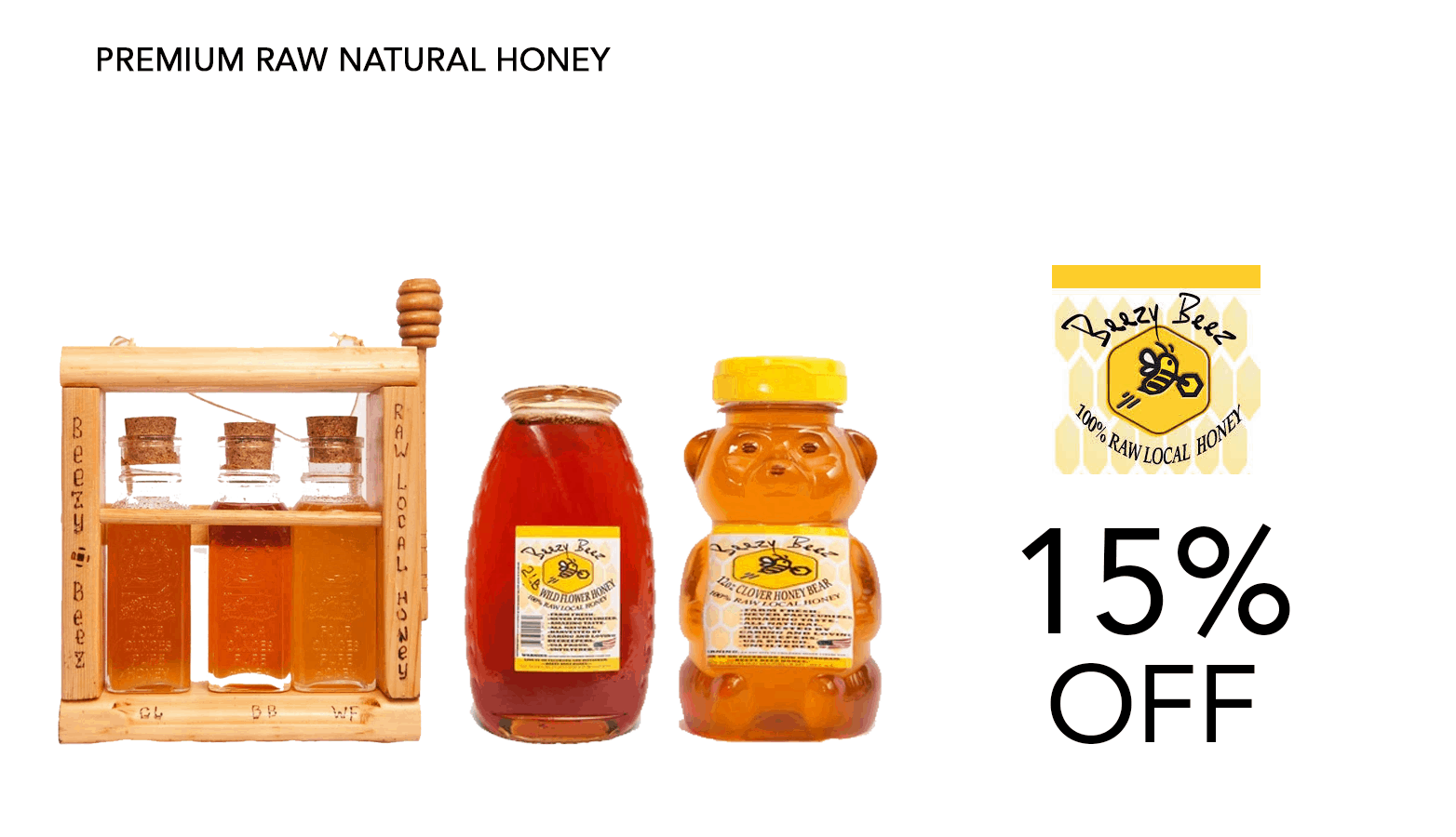Beezy Bee Honey CBD Coupon Code Website
