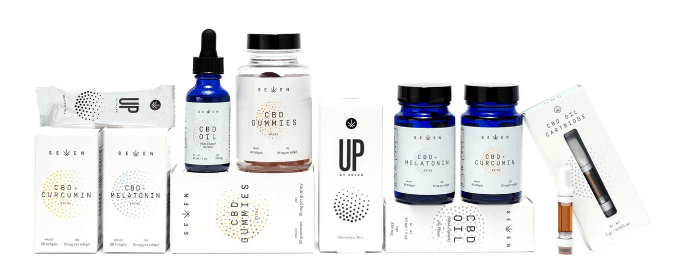 CBD By Seven Wellness Coupon Codes Products