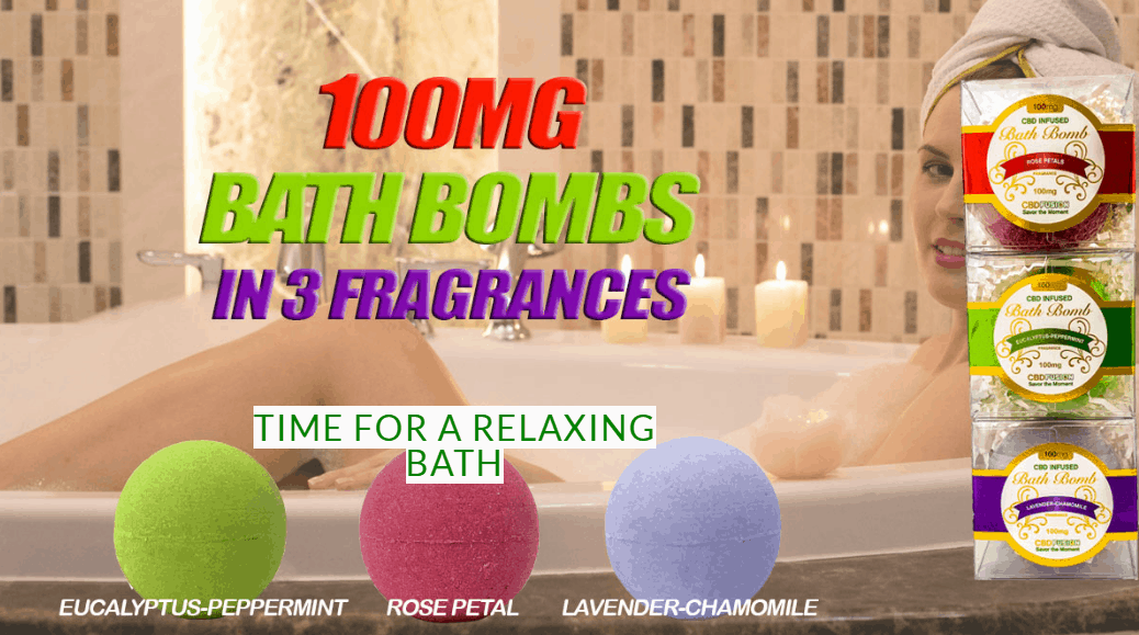 CBD Fusion Brands Coupon Code Bath Bombs