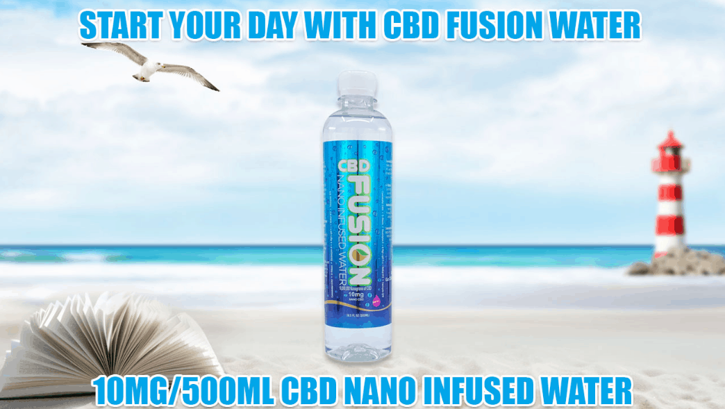 CBD Fusion Brands Coupon Code Infused Water