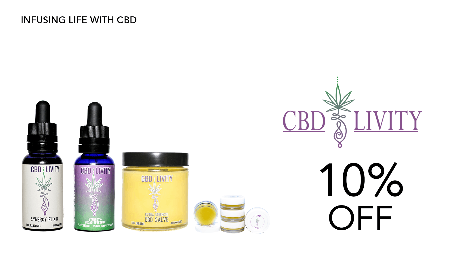 CBD Livity Coupon Code Website