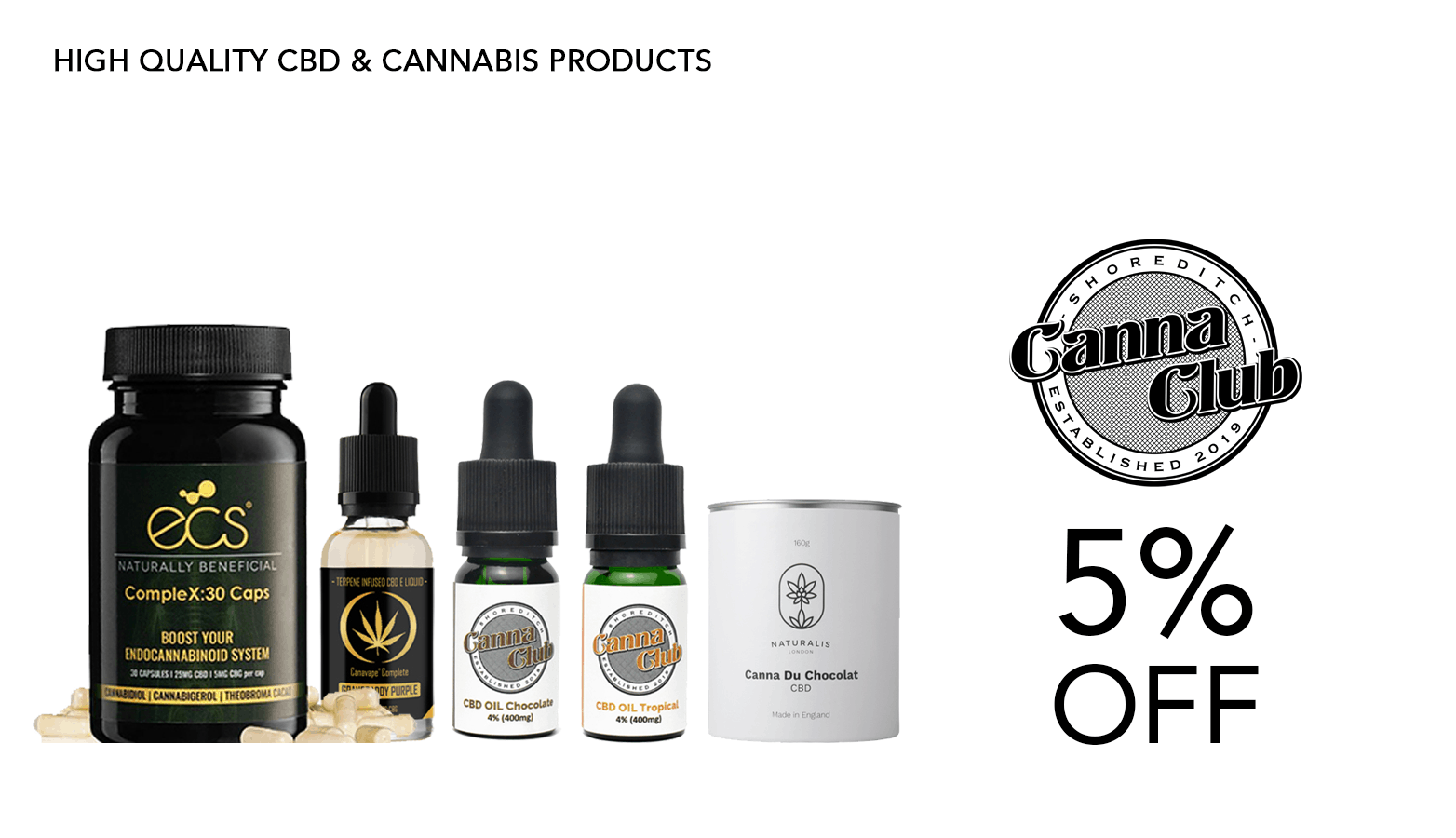 Canna Club UK CBD Coupon Code Website
