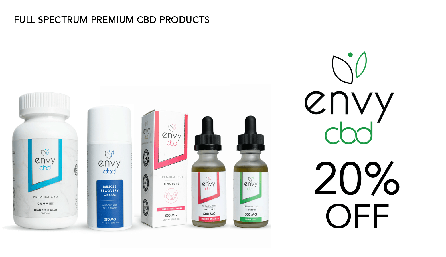 Envy CBD Coupon Code Website