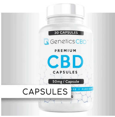 Genetics CBD Coupon Code Capsules
