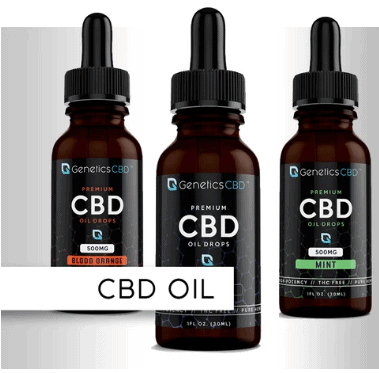 Genetics CBD Coupon Code Oil