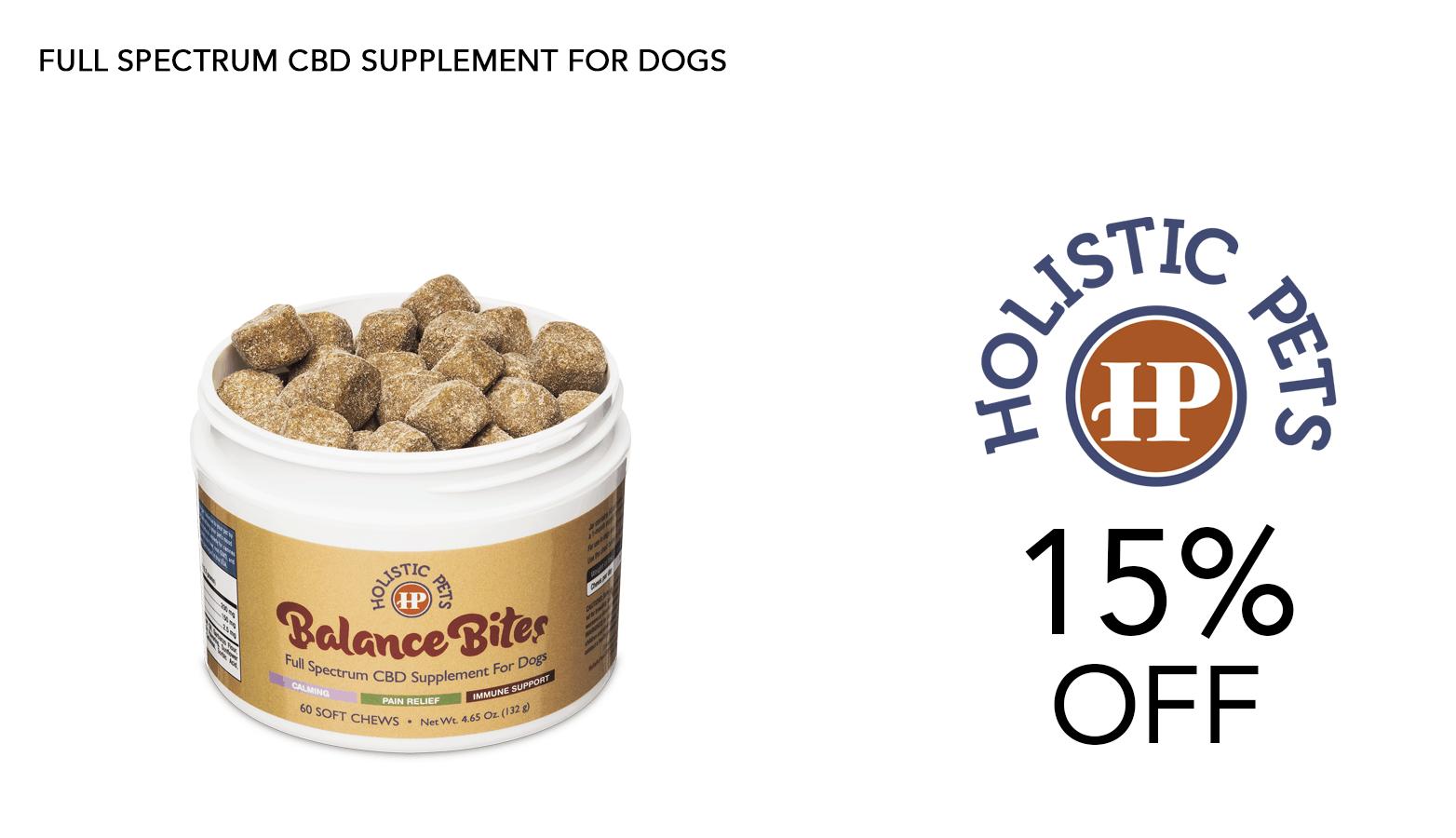 Holistic Pets CBD Coupon Code Website