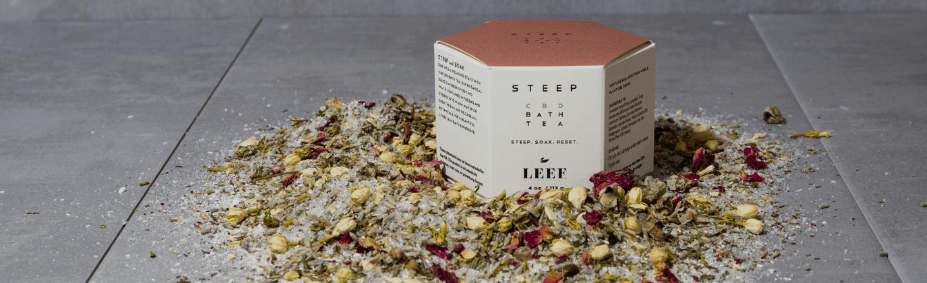 Leef Organics CBD Coupon Code Bath Tea