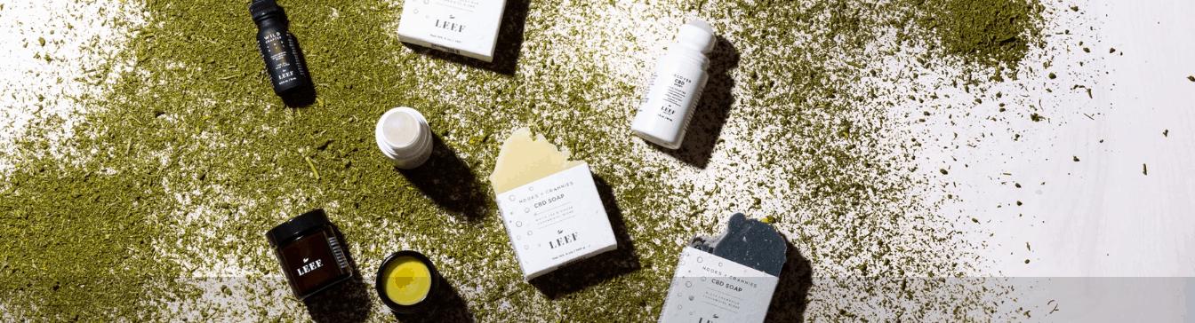 Leef Organics CBD Coupon Code Soap