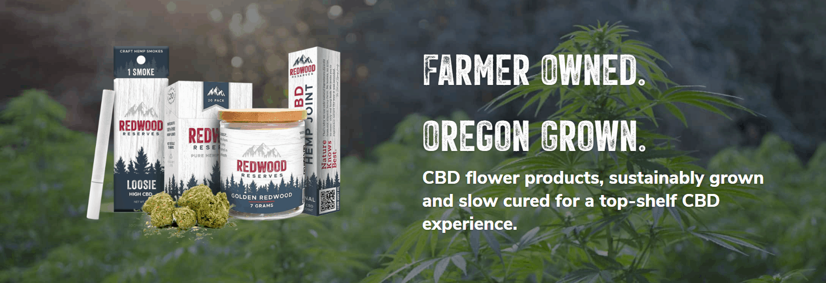 Redwood Reserves CBD Coupons Farmers Growned