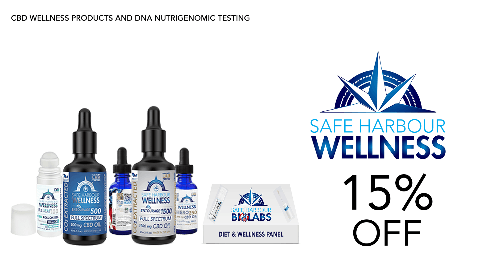 Safe Harbour Wellness CBD Coupon Code Website