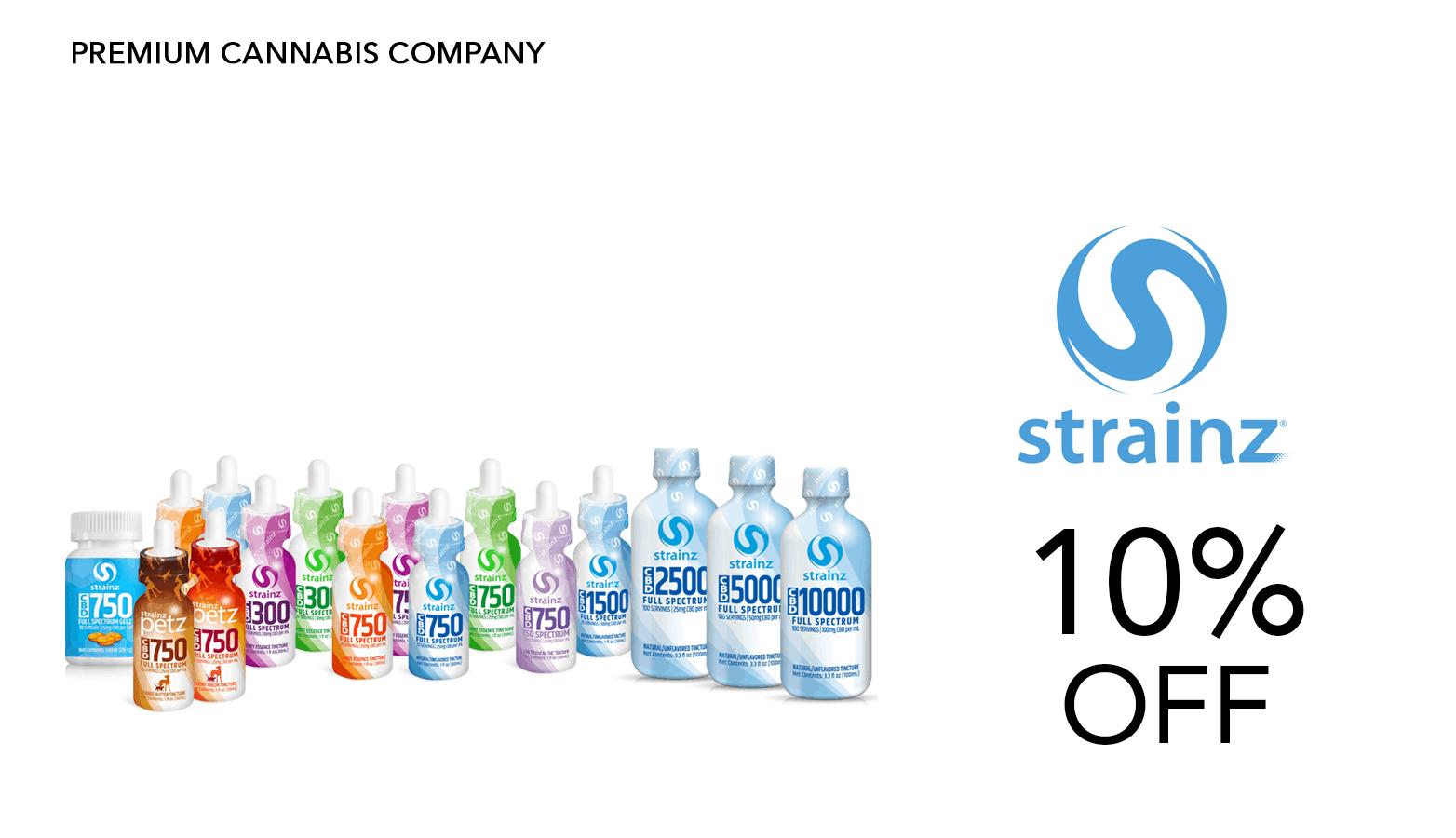 Strainz CBD Coupon Code Website