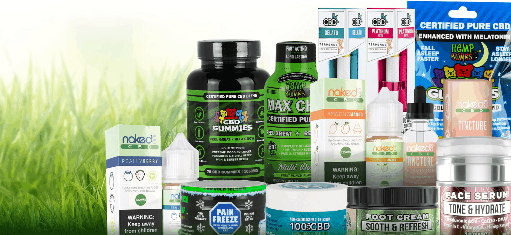 The CBD Site Coupon Code Products