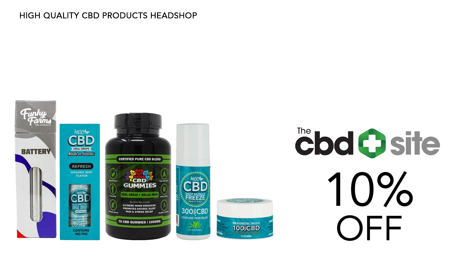 The CBD Site Coupon Code Website