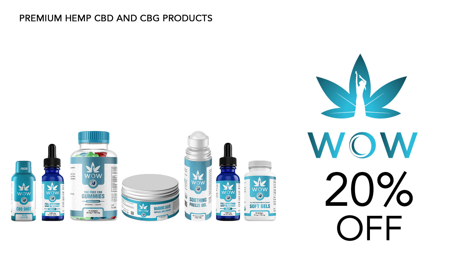 WOW Organics CBD Coupon Code Website