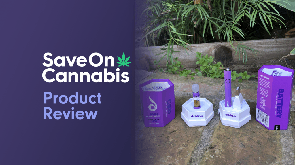 dr dabber cbd cartridge and battery combo robust blend review save on cannabis website
