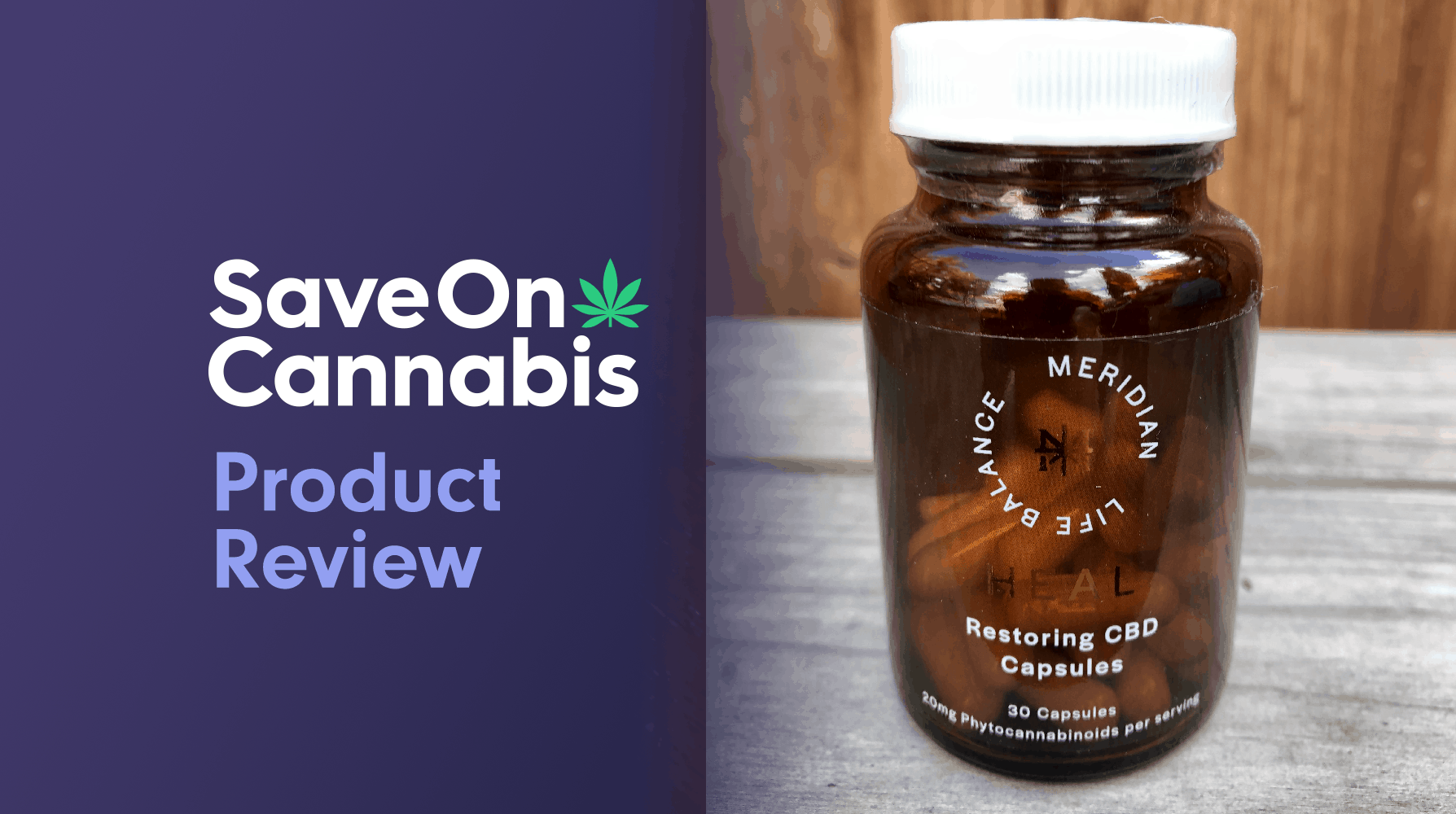 meridian life balance restoring cbd capsules save on cannabis Website
