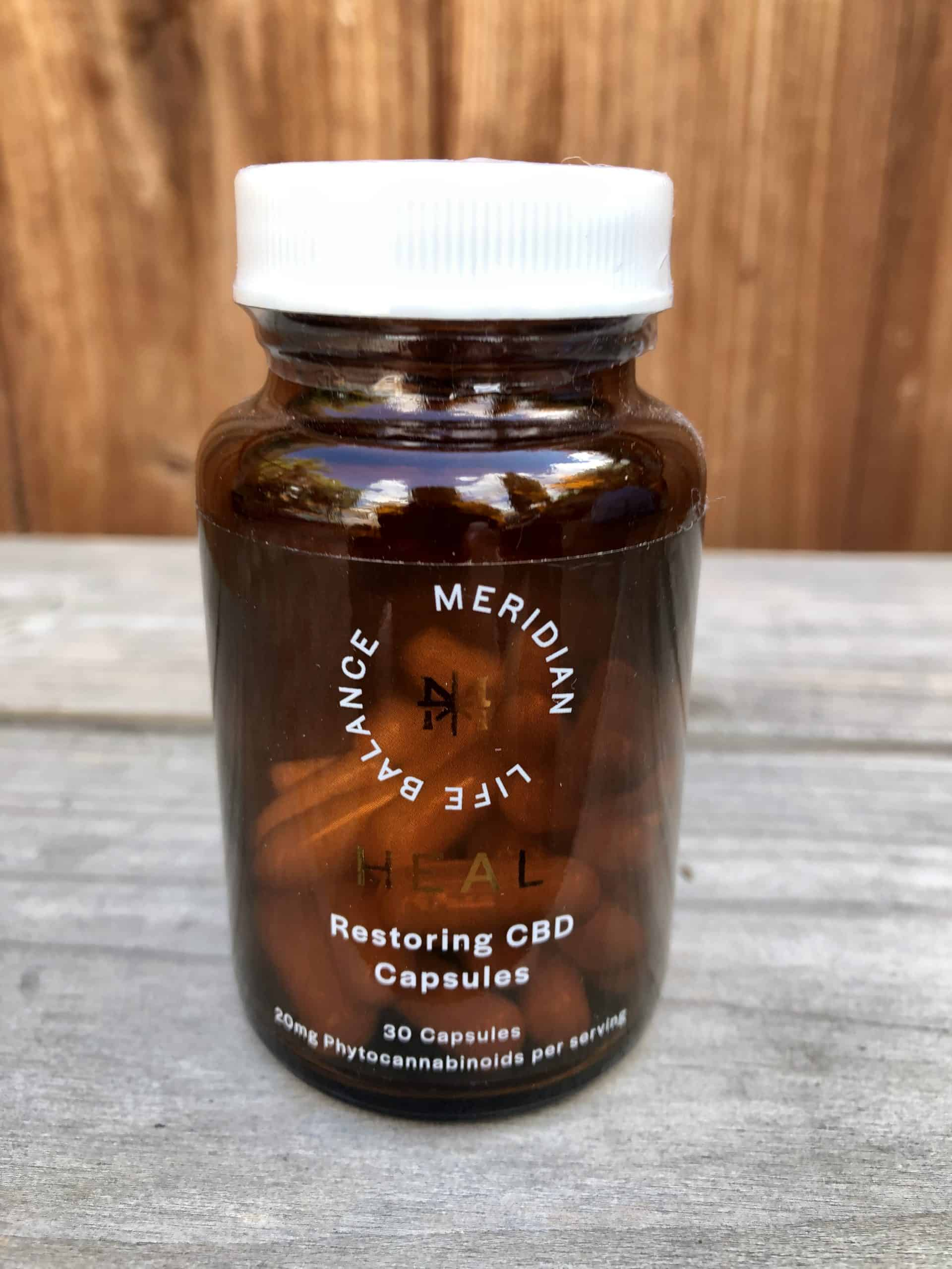 meridian life balance restoring cbd capsules save on cannabis review