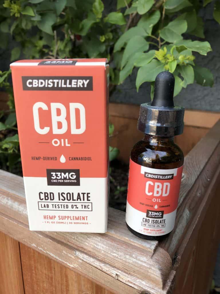 cbdistillery thc free pure cbd oil tincture 1000 mg save on cannabis beauty shot